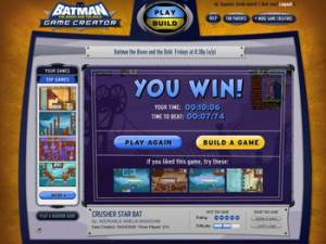 Batman: The Brave and The Bold Game Creator