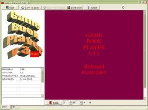 Game Book Player